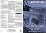 Flyer Programm Borderland